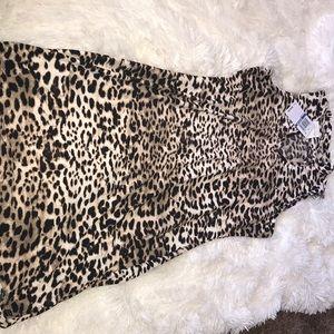 Ultra flirt cheetah dress